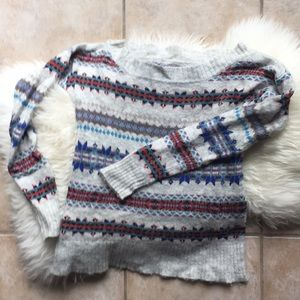 American Eagle Multi Colored Sweater
